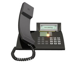 With hosted business phone, all you need are the telephones...