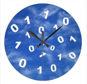 Cloud Computing Data Clock. Find this and other items related to cloud computing at the Gigapacket Zazzle store.