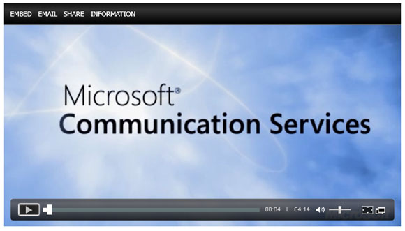 Click to watch this video on the Microsoft site.